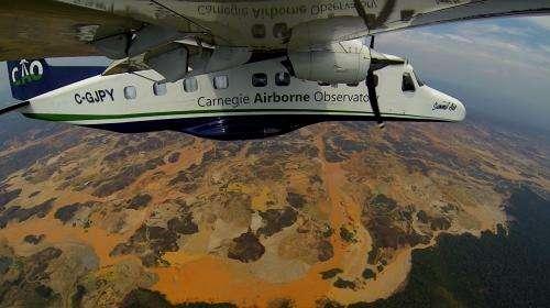 Gold mining ravages Peru