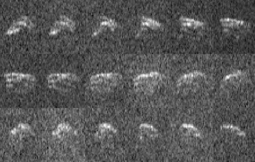 Goldstone radar snags images of asteroid 2013 ET