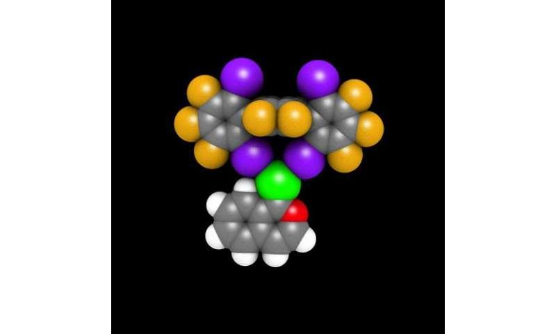 Halogen bridges as catalysts