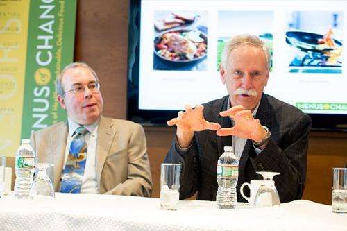 Healthy menus for people and planet: Experts and food industry leaders probe intersection of diet and the environment