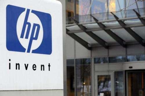 Hewlett-Packard headquarters is seen on January 12, 2010 in Diegem, Belgium