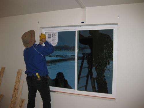 Highly insulating windows are very energy efficient, though expensive