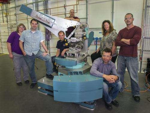 "High-speed X-ray ""camera"" beamline taking shape at NSLS-II"