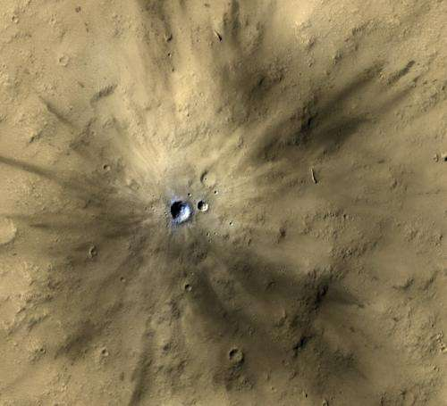 HiRISE Mars camera reveals hundreds of impacts each year