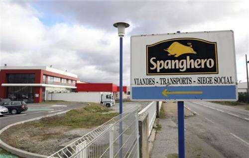 Horsemeat: French company blamed, UK arrests