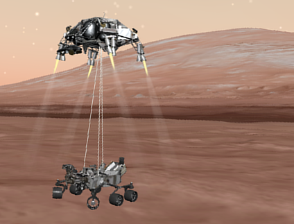 nasa mars rover landing today - photo #5