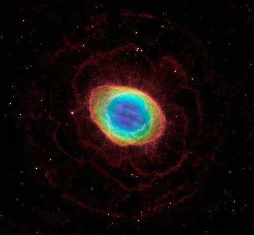 Hubble reveals the ring nebula's true shape