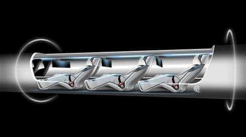 'Hyperloop' travel idea gains fans, if not backers