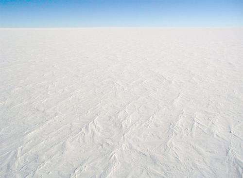 Far fewer lakes below the East Antarctic Ice Sheet than previously believed
