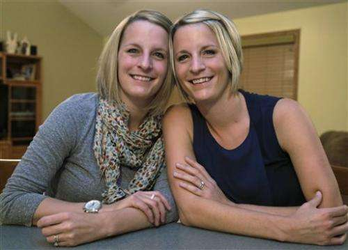 Identical twins share breast cancer, rare surgery