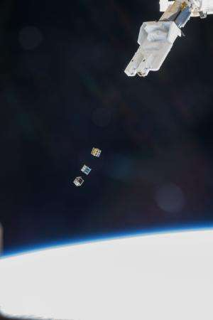 Image: Cubesats Released From Space Station