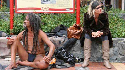 In-depth sociological study of Wellington's Blanket Man