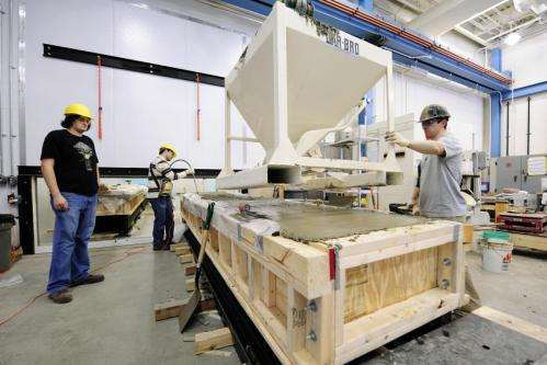 Indiana using new concrete to increase bridge life span