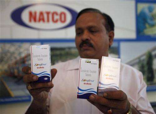India rejects Bayer plea against cheap cancer drug