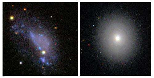 Iowa State, IBM astronomers explain why disk galaxies eventually look alike