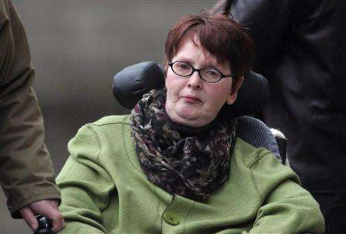Irish court: No 'right to die' for paralyzed woman