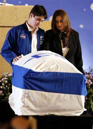 Israeli astronaut's widow carries on after tragedy