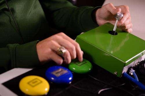 Joystick advances independent voting