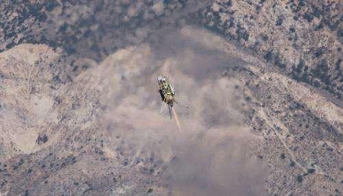 JPL, Masten Testing New Precision Landing Software
