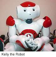 Kelly the robot helps kids tackle autism