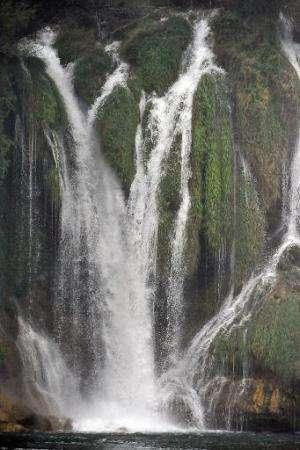Kravice waterfall, near the southern-Bosnian city of Mostar in Hutovo Blato Wetlands, a nature park near the Croatia-Bosnia bord