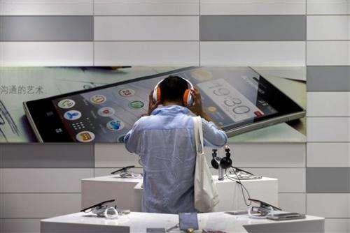 Lenovo mobile sales drive profit growth