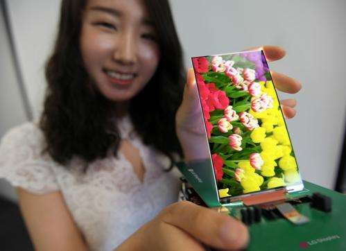 LG introduces world's slimmest full HD LCD panel for smartphones