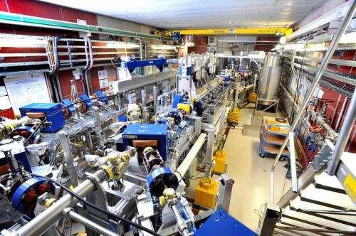 Light tsunami in a superconductor