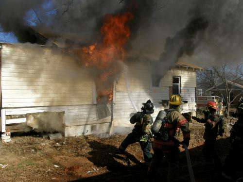 'Live burns' in Spartanburg, S.C., will benefit research and firefighter training