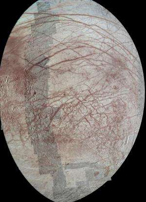 Long-stressed Europa likely off-kilter at one time
