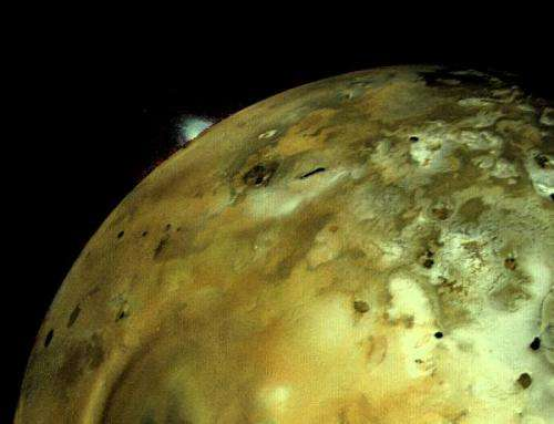 Major volcanic eruption seen on Jupiter's moon Io