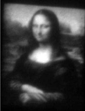 Making a mini Mona Lisa