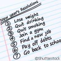 Making New Year's resolutions work