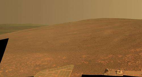 Mars rover teams dub sites in memory of Bruce Murray