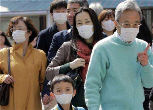 Masks galore: Japanese ward off pollen, pollution