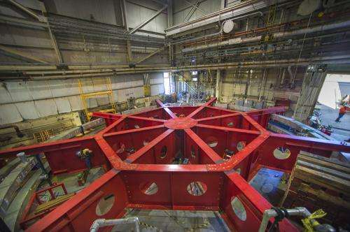 Massive particle storage ring to begin 3,200-mile trek on Sunday