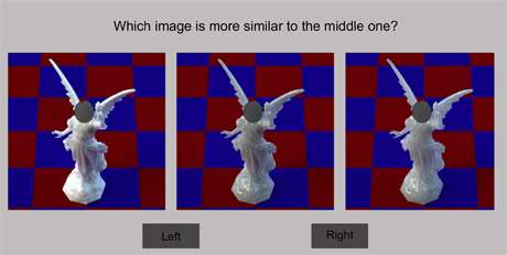 Matching eyes to math for translucent images