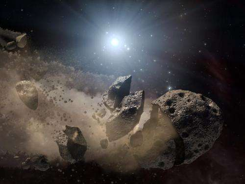 Meteorite minerals hint at earth extinctions, climate change