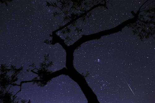 Meteor shower will be visible from Chicago suburbs