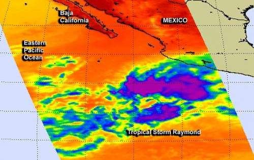 Mexico does not love Raymond, NASA sees weaker storm