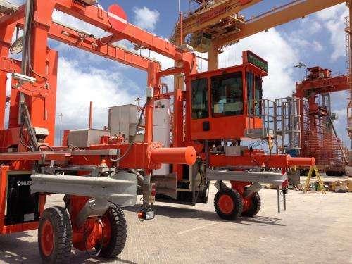 Mobile radiation detectors deployed at international ports