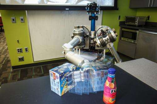More than a good eye: Carnegie Mellon robot uses arms, location and more to discover objects