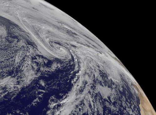 NASA catches Melissa's fickle life as a tropical storm