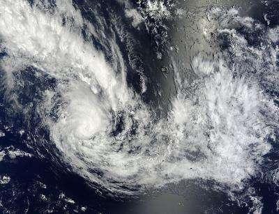 NASA eyes the birth of Tropical Cyclone Haley