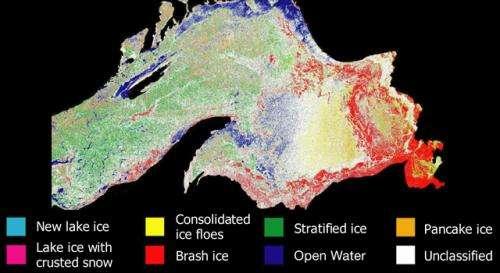 NASA Helps Melt Secrets of Great Lakes Ice