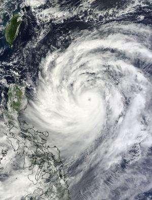NASA sees Usagi become a typhoon