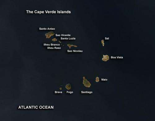 NASA's HS3 mission may target Cape Verde Island hurricanes in 2013