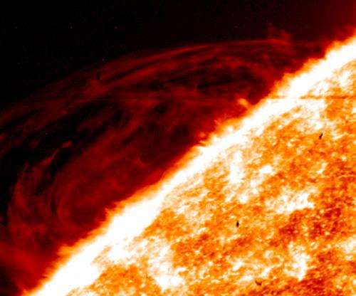 NASA's IRIS provides unprecedented images of sun