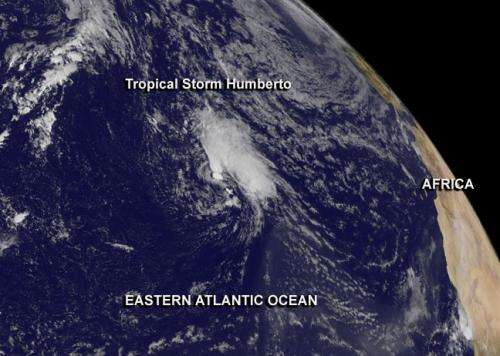 NASA to investigate Tropical Storm Humberto: Atlantic's second 'zombie tropical storm'