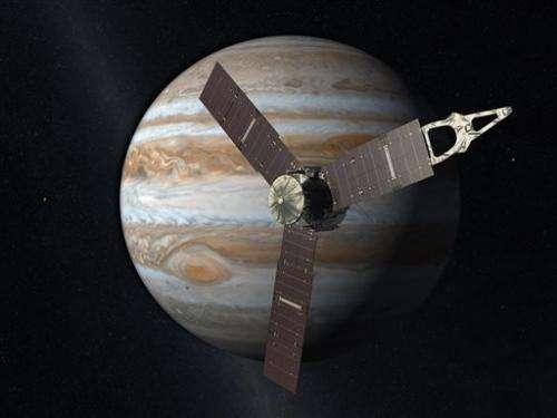 NASA troubleshooting Jupiter-bound spacecraft